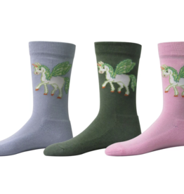 TuffRider Kids' Unicorn Socks - 3 pack