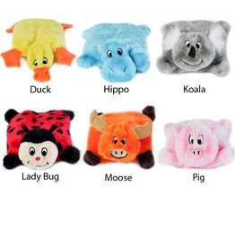 Zippy Paws Zippy Paws Squeakie Pad Plush Dog Toys