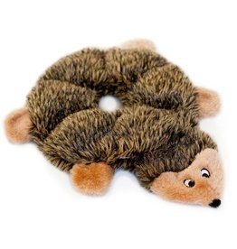 Zippy Paws Zippy Paws Loopy Hedgehog Plush Dog Toy