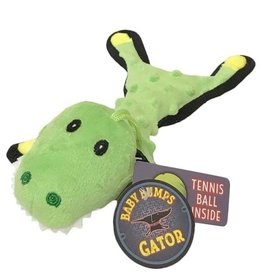 Steel Dog Steel Dog Baby Gator with Tennis Ball & Rope