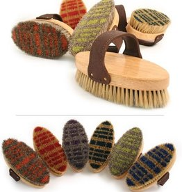 Desert Equestrian Legends Plaid Bristle Brush