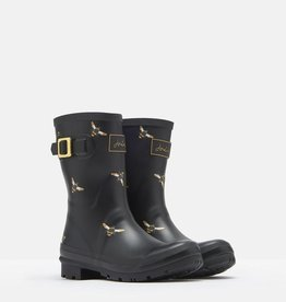 Joules Ladies Molly Mid Height Printed Rain Boot