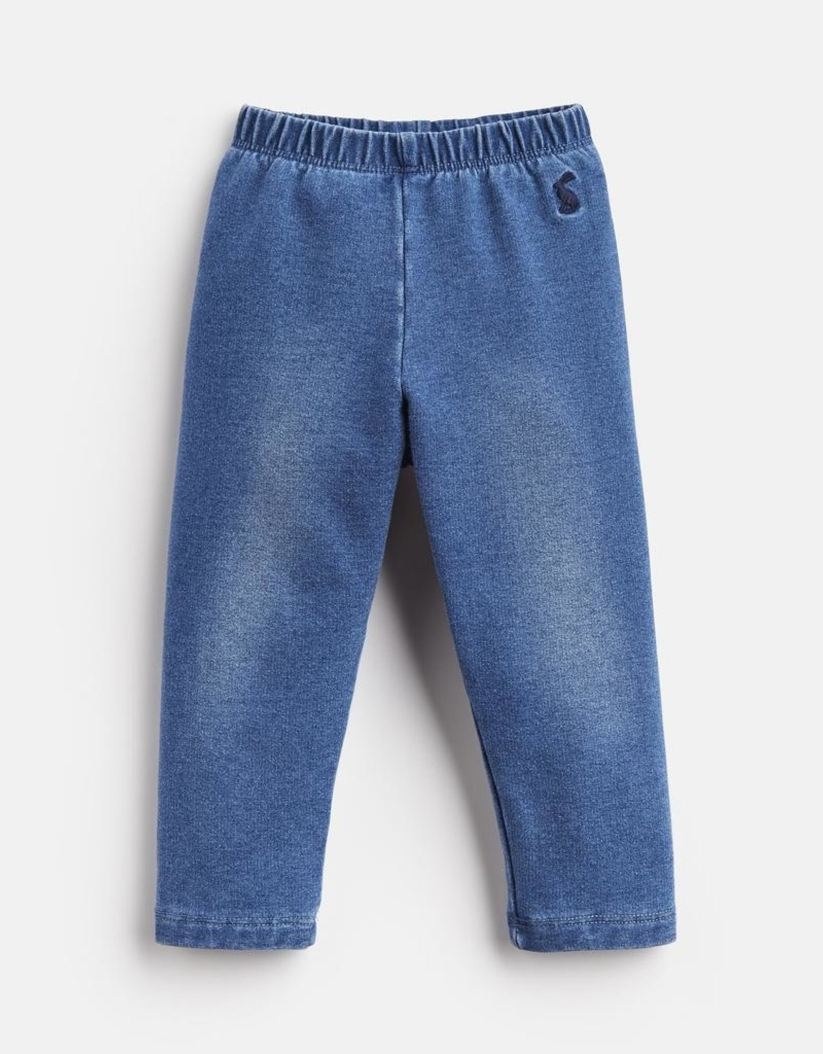 Joules Kids Minnie Jersey Denim Legging