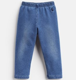 Joules Kids Minnie Jersey Denim Legging