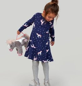 Joules Kids Josie Jersey Printed Dress