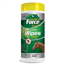 Nature's Force Face and Body Wipes