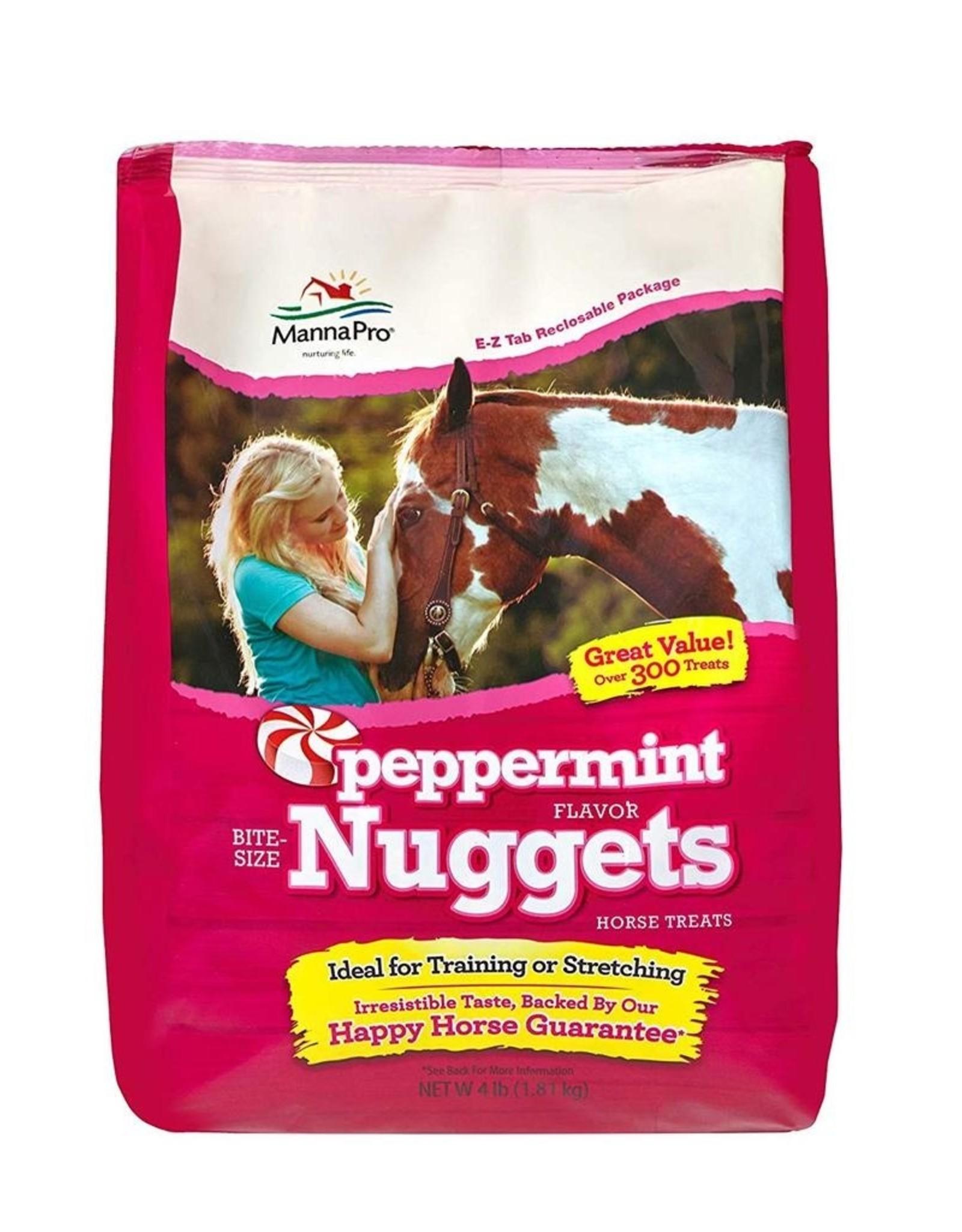 MannaPro Peppermint Bite-Size Nuggets - 4lb