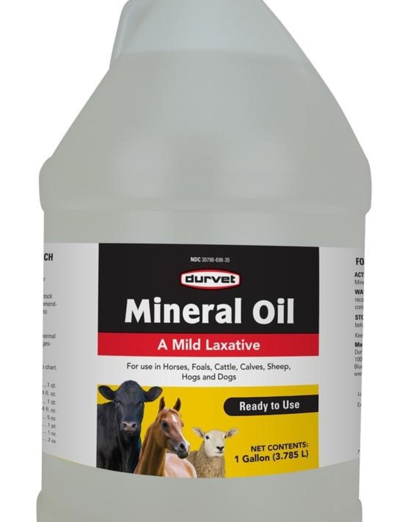 Durvet Mineral Oil - 1gal