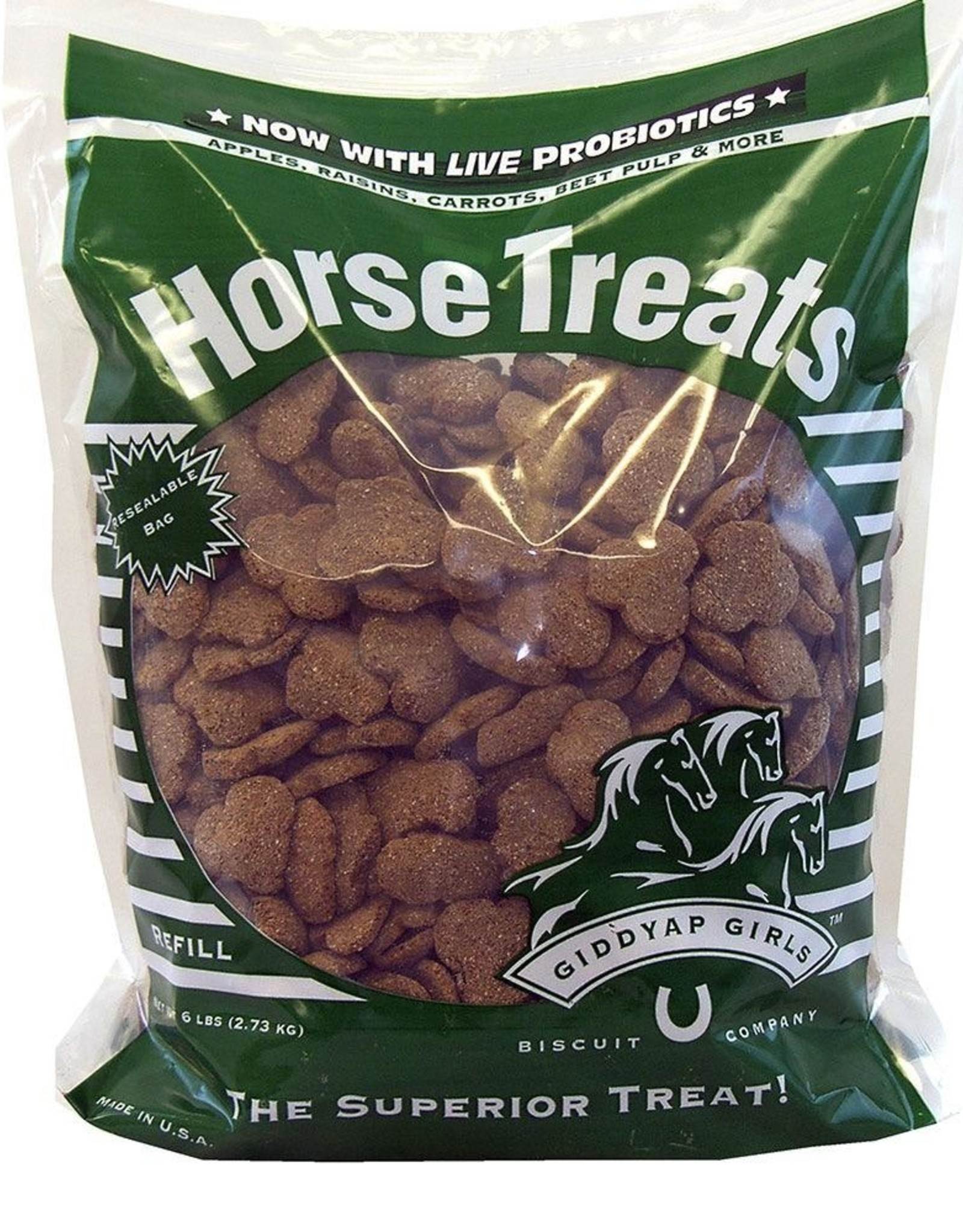 Giddyap Girls Giddyap Girls Premium Horse Treats - 96oz Bag