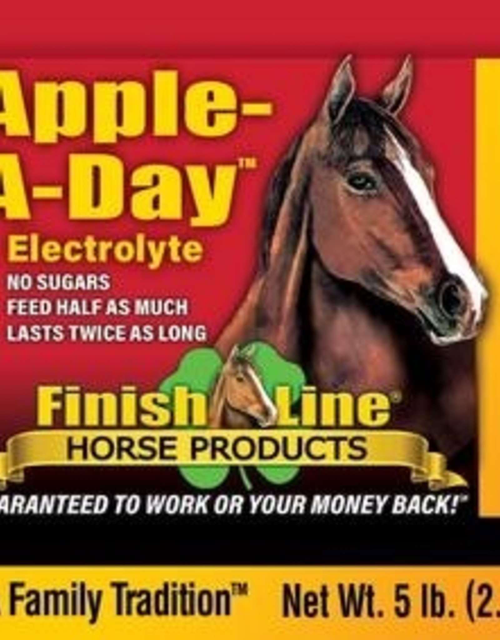 Finish Line Finish Line Apple-A-Day Electrolyte - 5lb