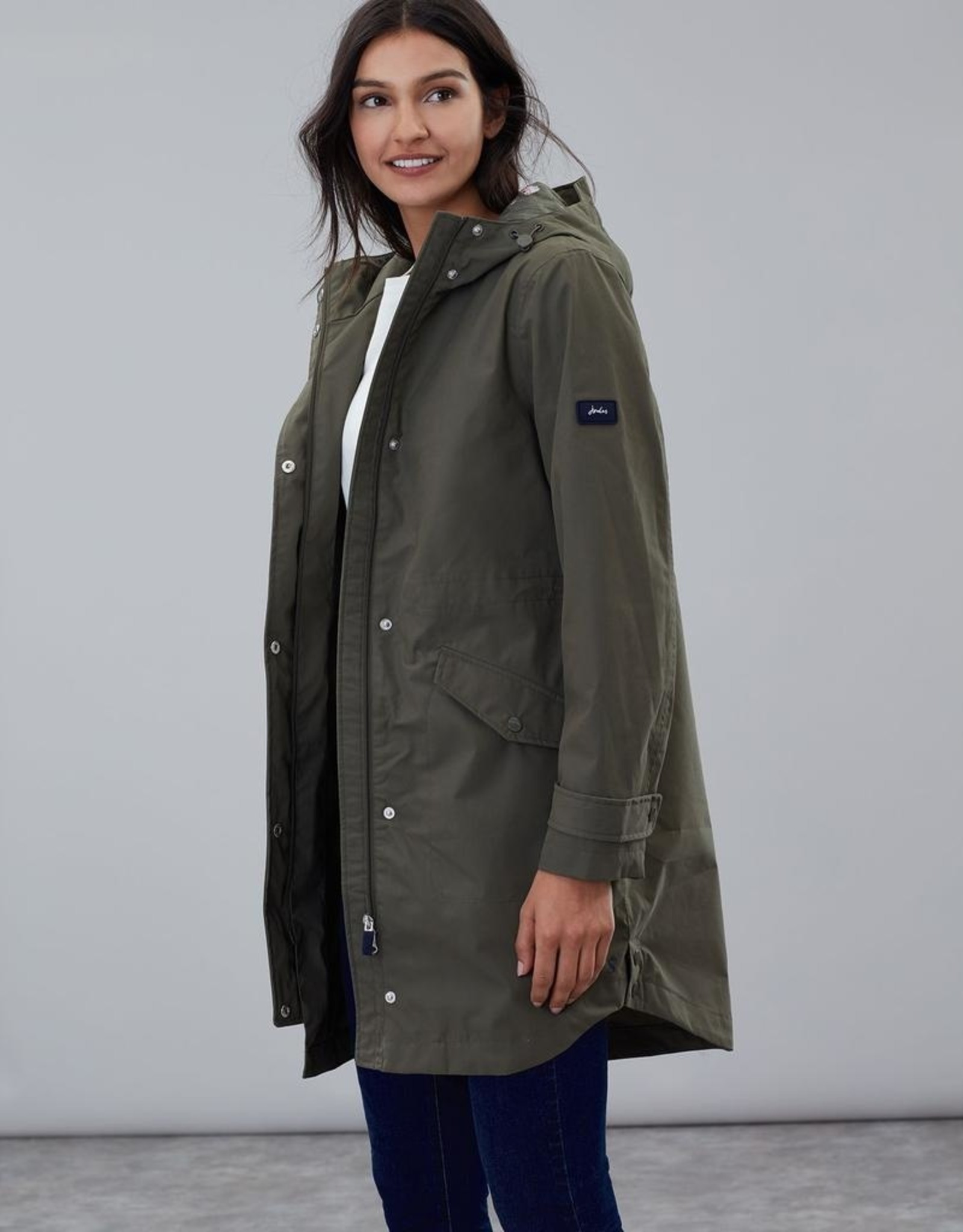 Ladies Longline Parka