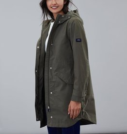Joules Ladies Loxely Longline Waterproof Coat
