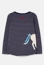 Joules Kids' Ava Applique T-Shirt