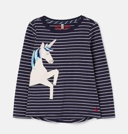 Joules Kids' Ava Applique T-Shirt
