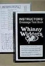 Winny Widgets Instructor Dressage Test Book