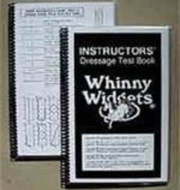 Whinny Widgets Winny Widgets Instructor Dressage Test Book