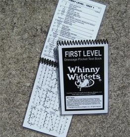 Whinny Widgets Winny Widgets First Level Dressage Test Book