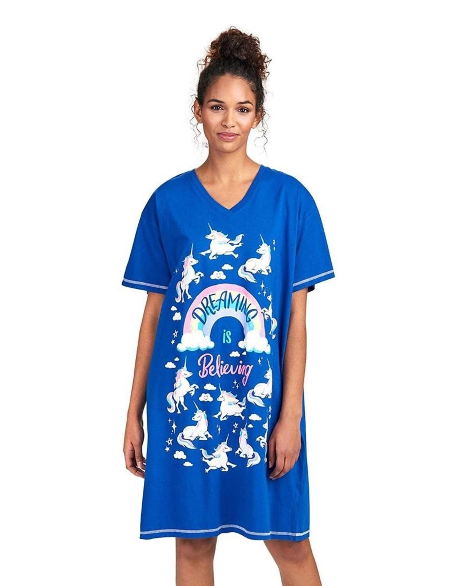 Hatley Rainbow Unicorns Sleepshirt