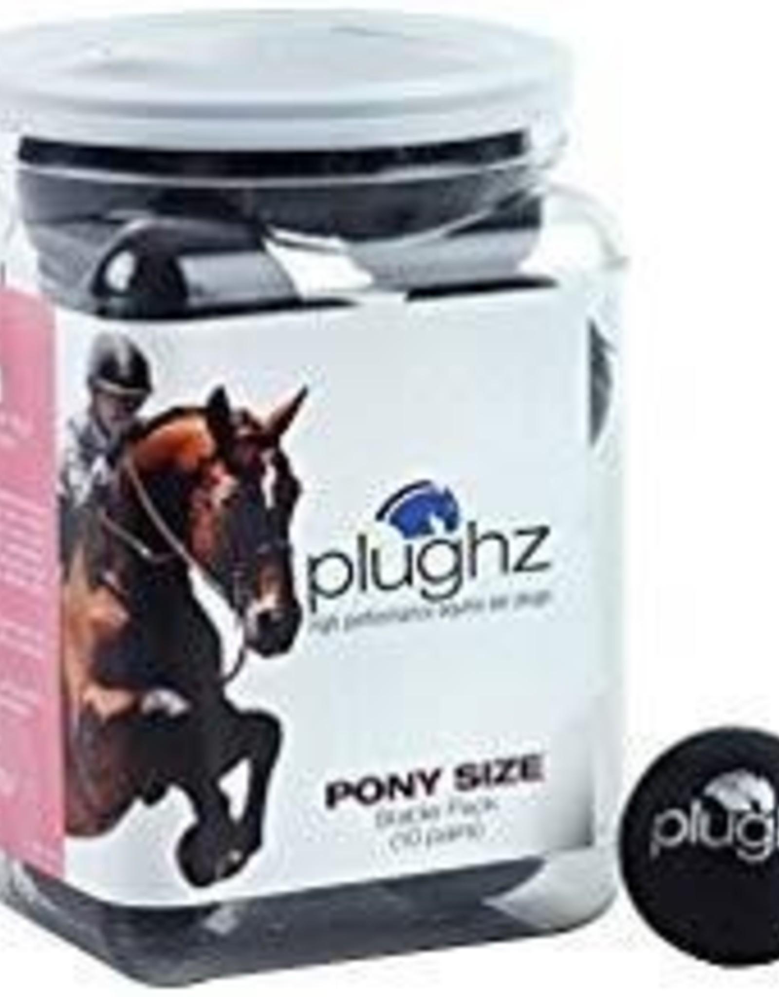 Plughz Plughz Equine Ear Plugs - 10 Pair