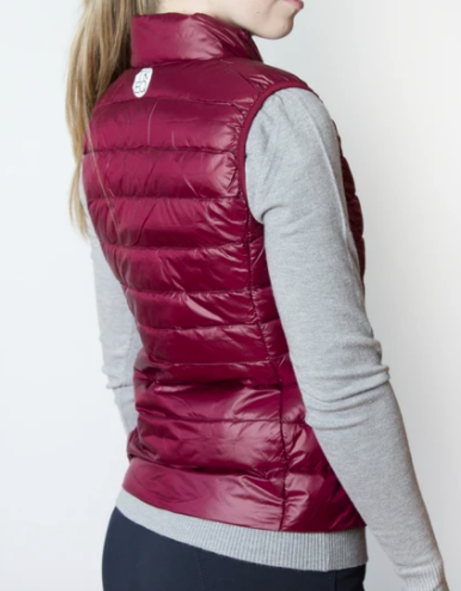"""TKEQ """"EZ"""" Packable Down Vest"""