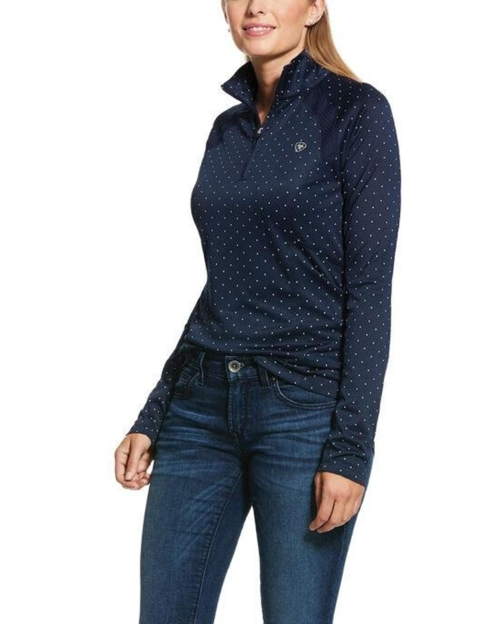 Ariat Ladies' Sunstopper 2.0 1/4 Zip Baselayer Shirt