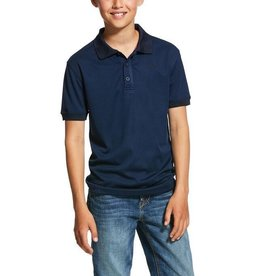 Ariat Kids' TEK Button Polo Shirt