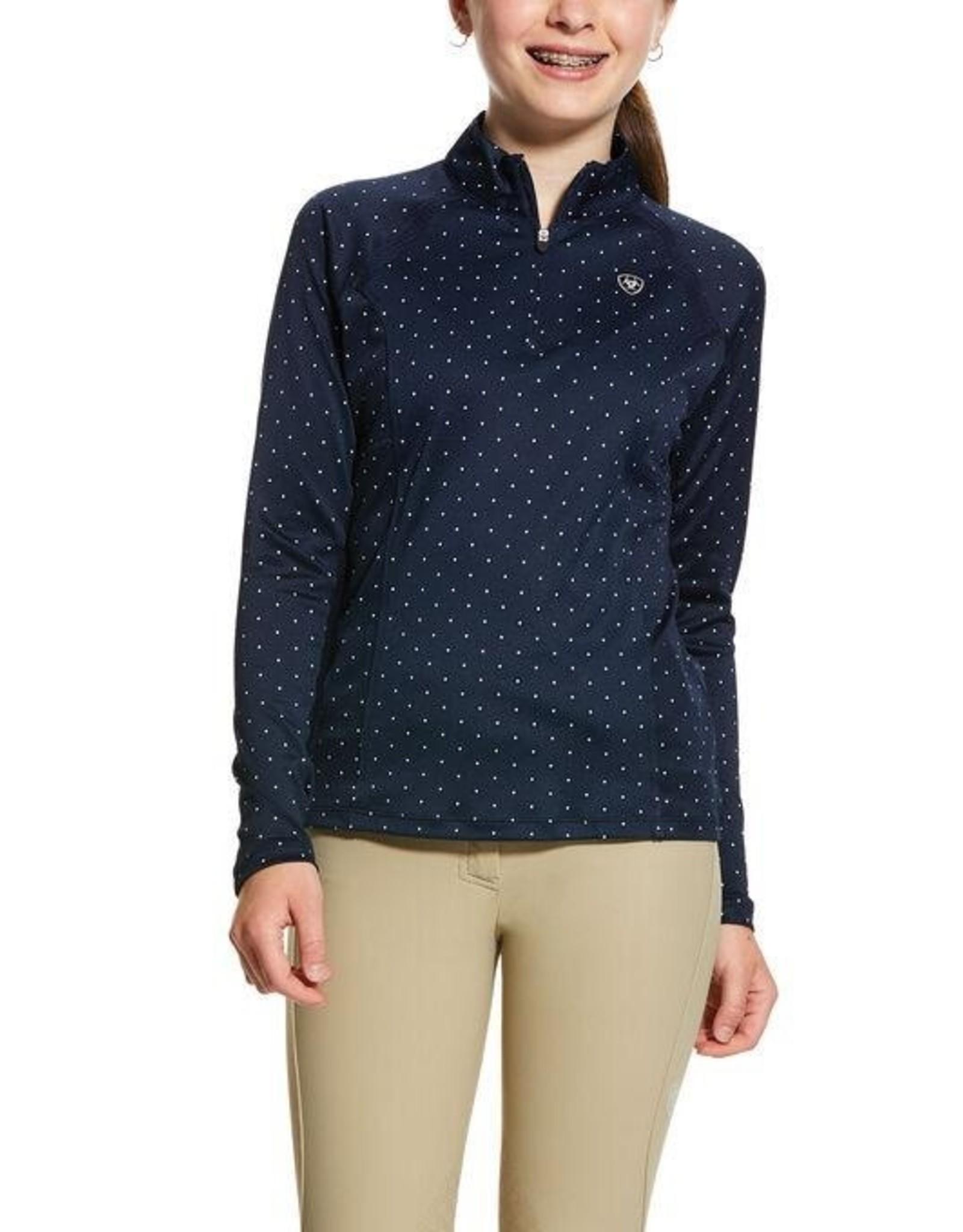 Ariat Kids Sunstopper 2.0 1/4 Zip Baselayer Shirt