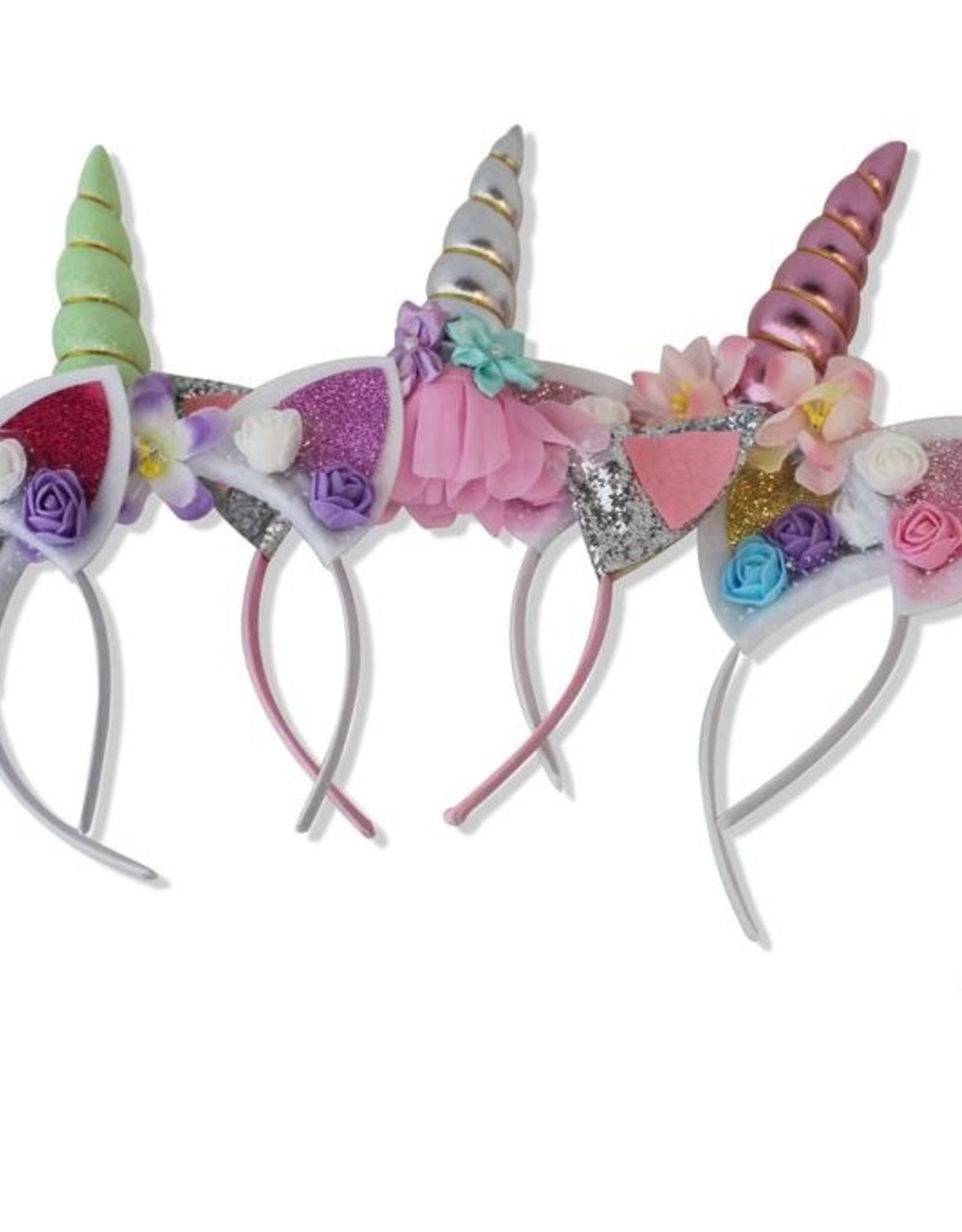 Belle Unicorn Headbands - Assorted