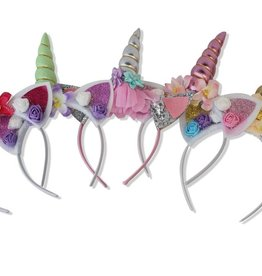 Belle Unicorn Headbands - Assorted