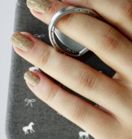 Spiced Spiced Equestrian Horseshoe Phone Ring