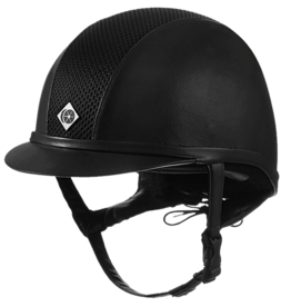 Charles Owen AYR8 Plus Leather Look Helmet