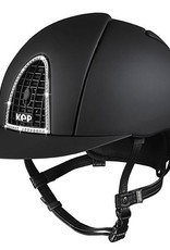 KEP Kep Cromo Textile With Swarovski Crystals Helmet