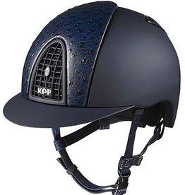 KEP Kep Italia Cromo Textile Ostrich Helmet