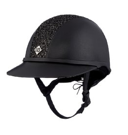 Charles Owen SP8 Sparkly Leather Look Helmet