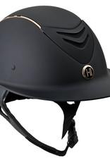 One K Avance Wide Brim Rose Gold Helmet