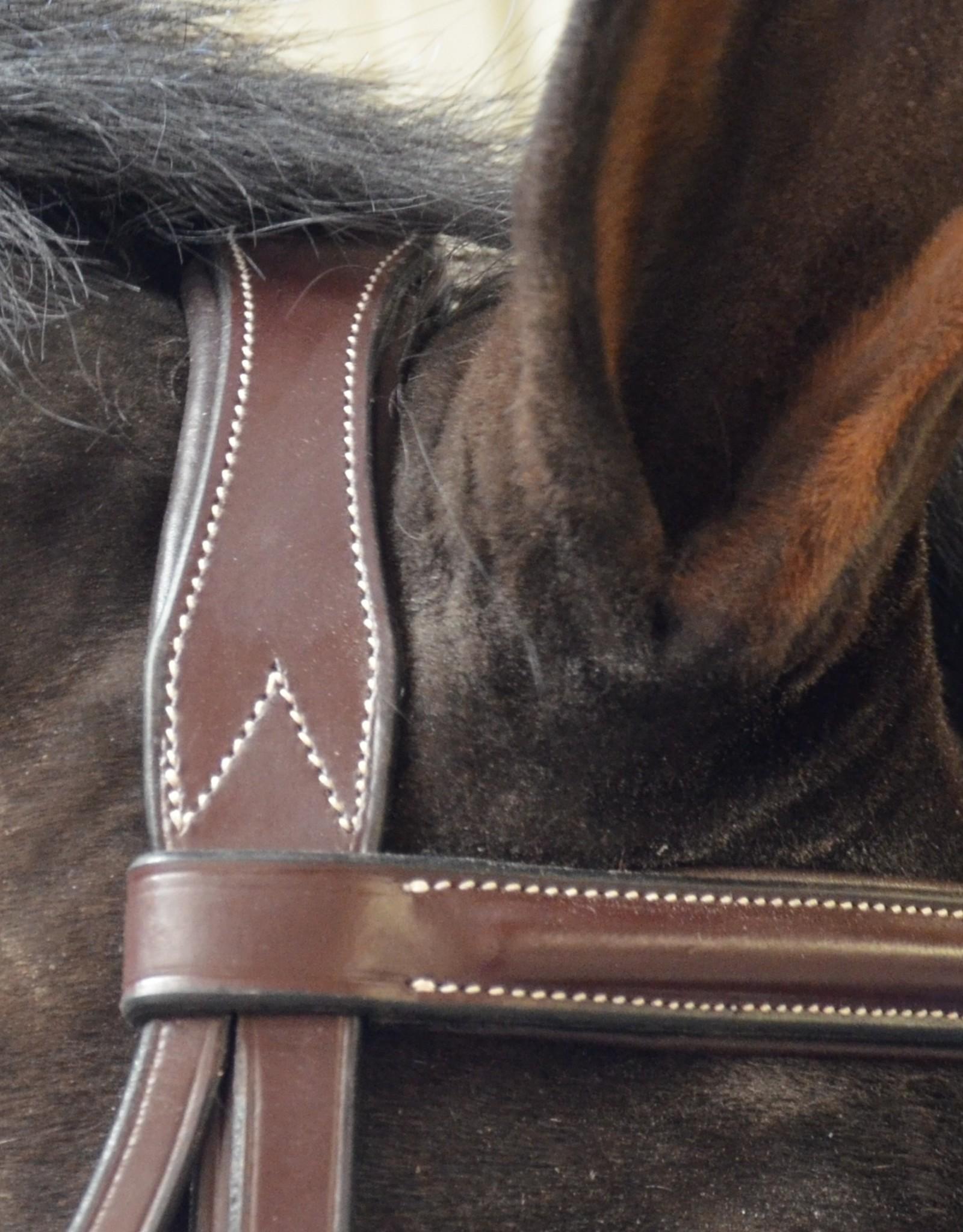 Black Oak Cypress Wide Nose Padded Bridle