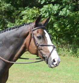KL Select Red Barn Equinox Figure 8 Bridle