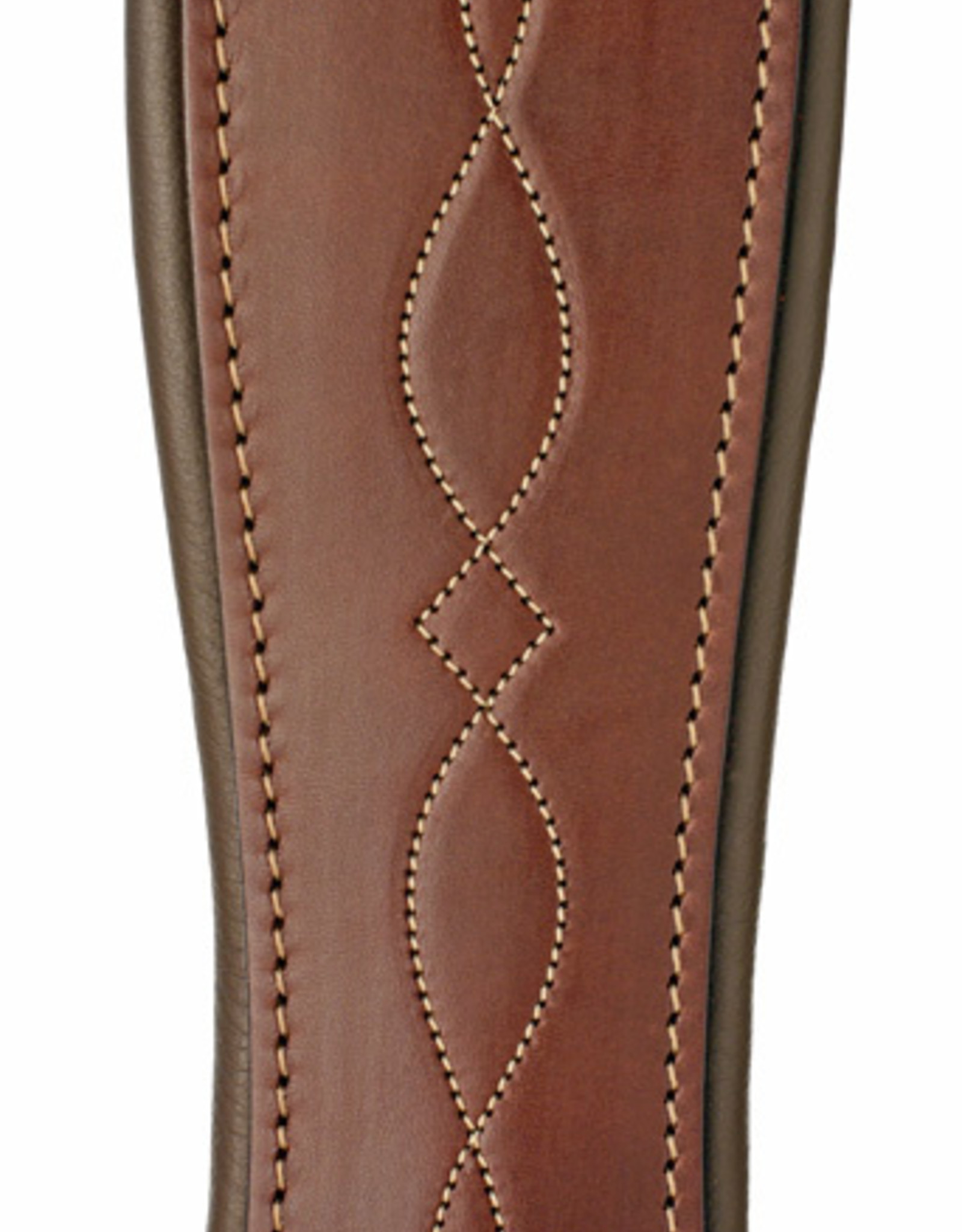 Edgewood Fancy Stitched Single Elastic Girth
