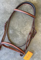 "Edgewood 5/8"" Fancy Padded Crown Headstall"