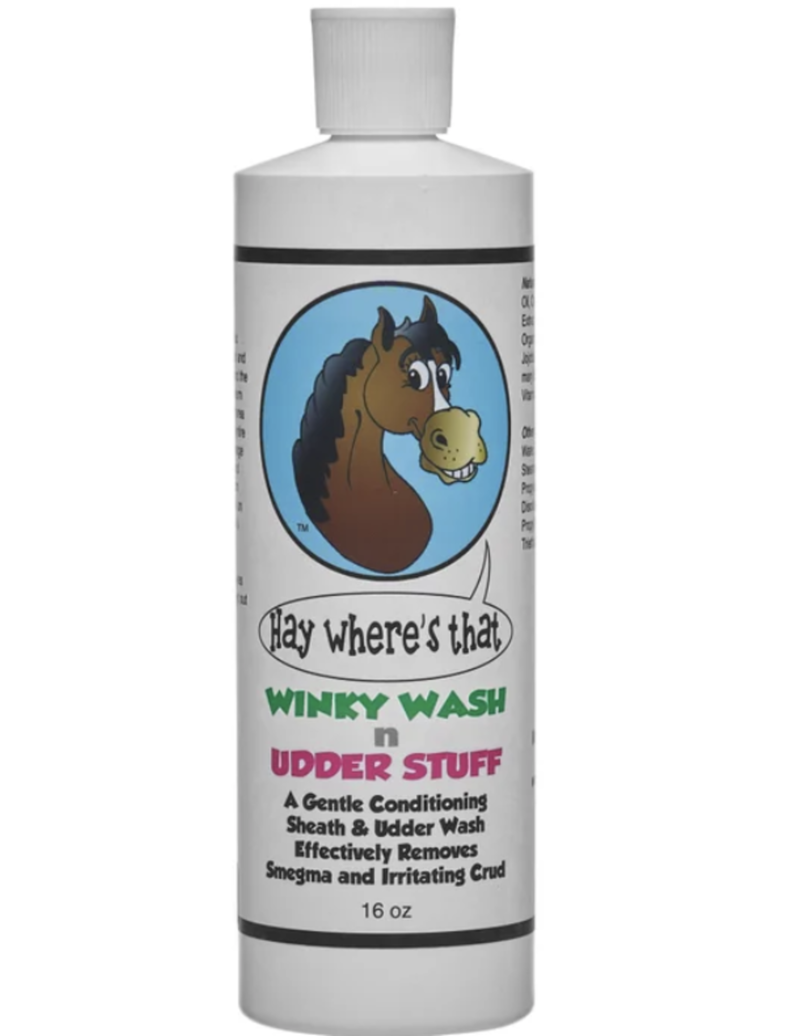 Hay Where's That Blue Stuff Hay Where's That Winky Wash n Udder Cleaner - 16 oz
