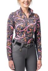 Kastel Ladies' 1/4 Zip Sun Shirt