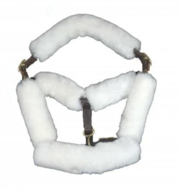 Fleeceworks Fleeceworks Sheepskin Halter Cover Set - 6PC