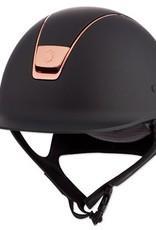Samshield Shadowmatt with Rose Gold Trim Helmet