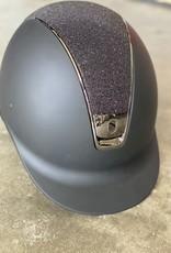 Samshield Shadowmatt with Swarvoski Center Helmet
