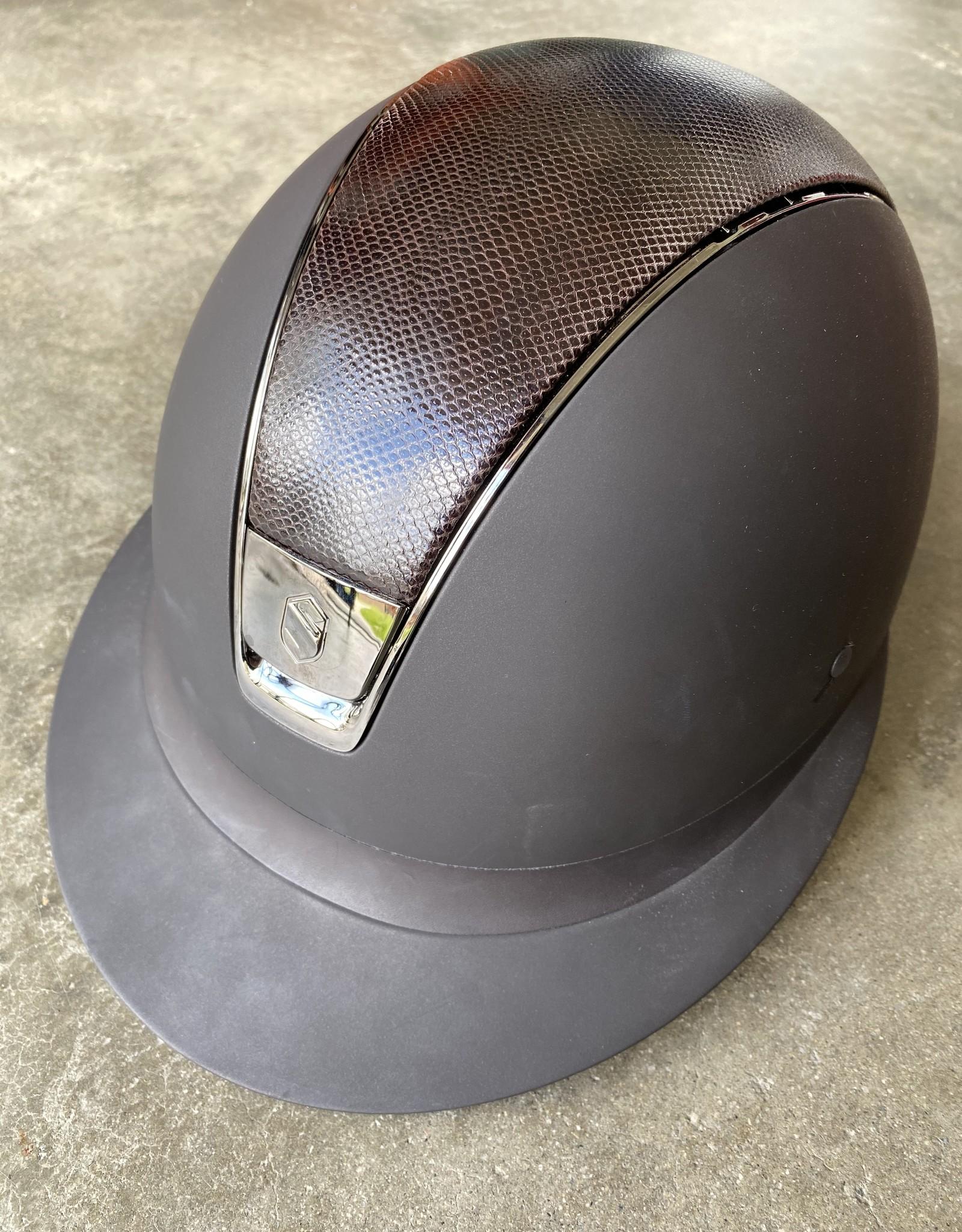 Samshield Miss Shield Shadowmatt With Lizard Top Helmet