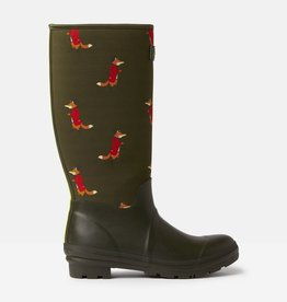 Joules Ladies' Neoprene Printed Rain Boot