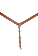 "Circle Y 1.5"" Straight Plain Breast Collar"