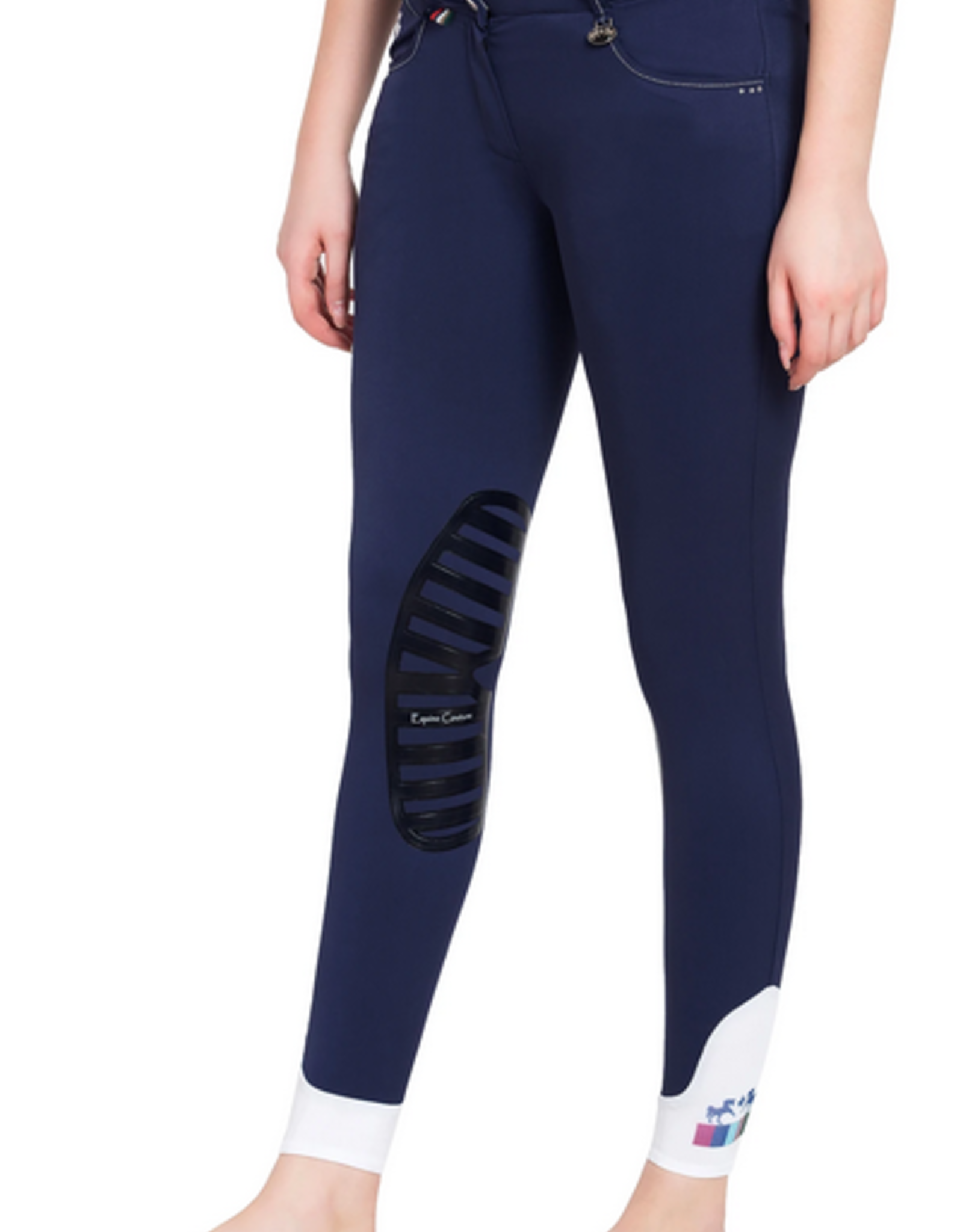 Equine Couture Darsy Ladies' Silicone Knee Patch Breech