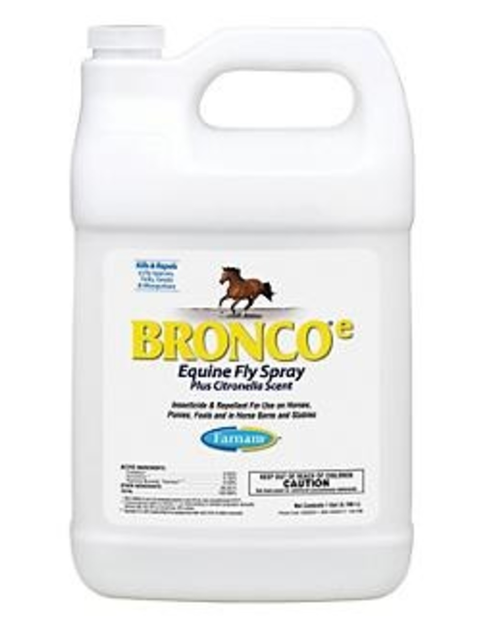 Farnam Bronco E Citronella Fly Repellent - Gallon