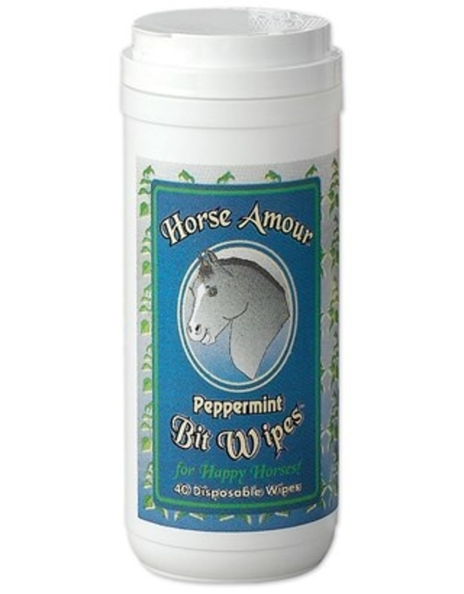 Horse Armour Horse Amour Peppermint Bit Wipes